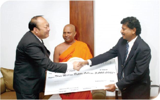 TIENS bienfaisance œuvre caritative monde developpement association nationale Sri Lankaise