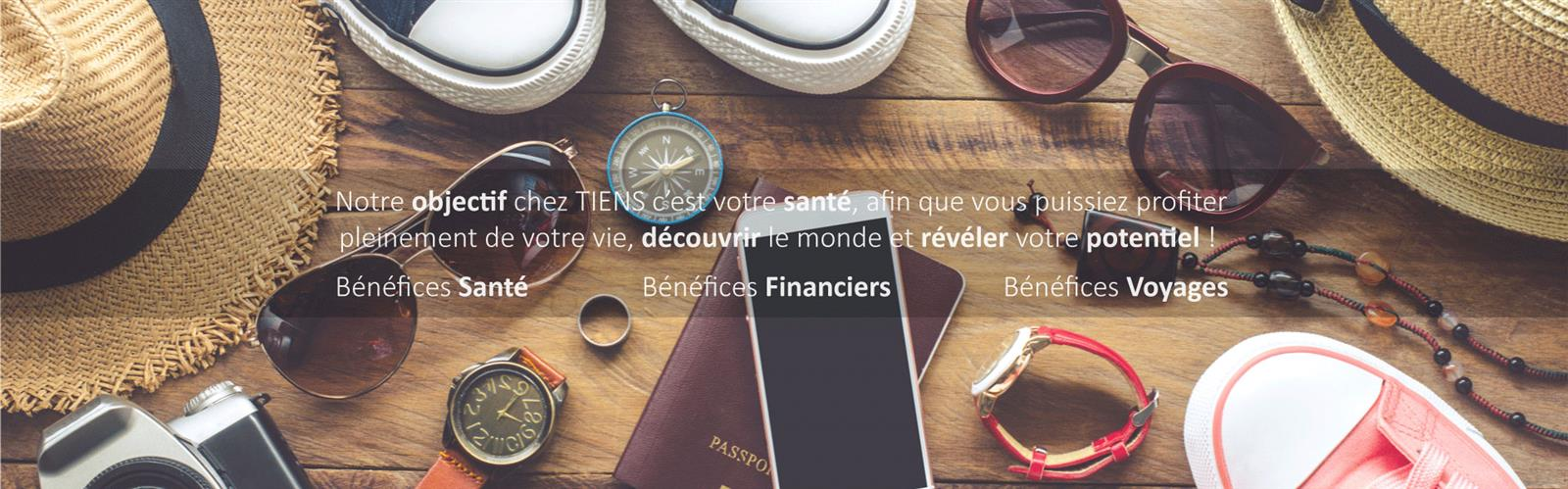 Opportunite TIENS France finance sante voyages bien etre succes