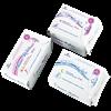 """Изображение Дневные, ночные, ежедневные женские гигиенические прокладки Anion-Relax """"AiRiZ"""" в наборе"""