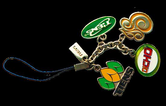 """Изображение Брелок для мобильного телефона с логотипом """"Тяньши"""""""