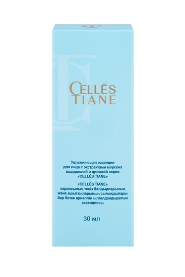 Изображение Увлажняющая эссенция для лица с экстрактами морских водорослей и дрожжей серии «CELLÉS TIANE»