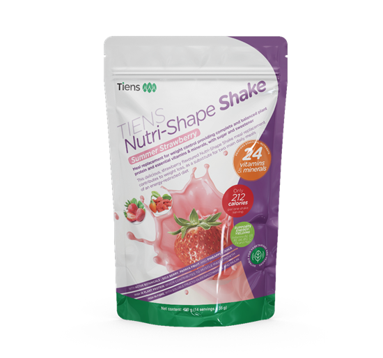 TIENS Nutri-Shape Shake Fragola Estiva