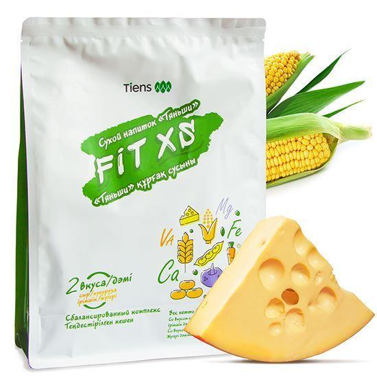 """Изображение Сухой напиток Fit XS """"Тяньши"""" (со вкусом кукурузы, со вкусом сыра), в наборах"""