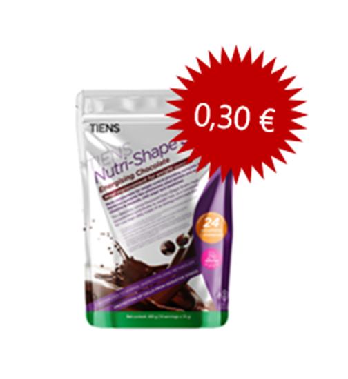 """Priekšstatu par Tiens """"Nutri-Shape"""" šokolādes aromatizēts kokteilis (akcija)"""