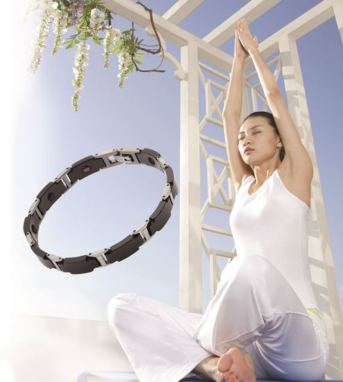 Picture of TIENS Ti- Energy Bracelet(Crystal Black ,Men's Edition)