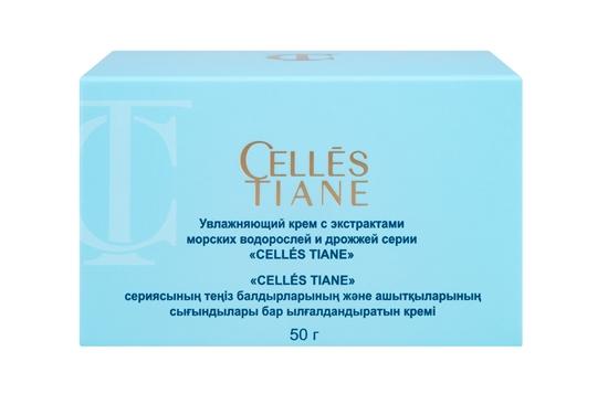 Изображение Увлажняющий крем с экстрактами морских водорослей и дрожжей серии «CELLÉS TIANE»